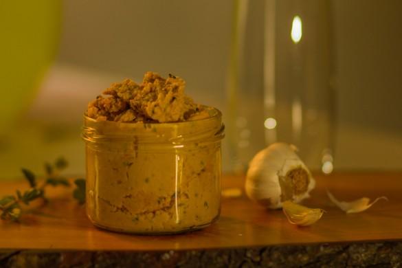 Rezept für cremigen Hummus